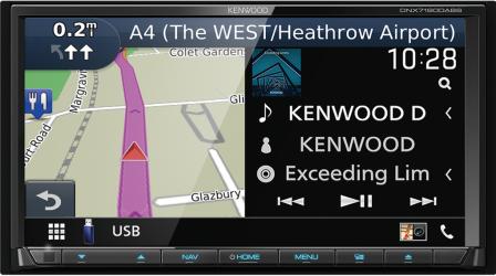 KENWOOD DNX 7190 DABS