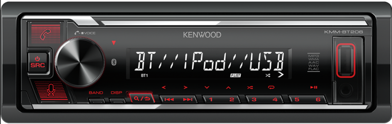 KENWOOD KMM BT 206
